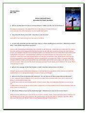 Divine Command Theory Study Questions BBSE