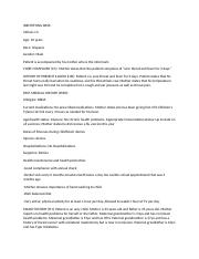 pediatric SOAP note week 4-1 docx - Date Physical