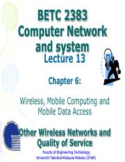 BETC_2383_Lecture_14_-__Ch_6_Other_Wireless_Network