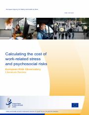 Calculating the cost of work-related stress and psychosocial risks.pdf