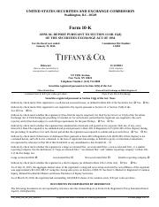 110 - TIF_10K_01_31_16_v16.0.0 - MARKED UP
