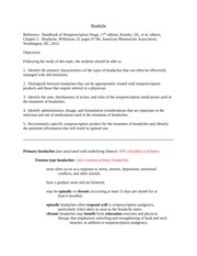 Nonprescription therapeutics headache handout (1)