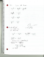 MAT 145 Law of Sines Notes