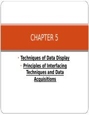 CHAPTER 5 (data display).ppt