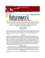 Functional Literacy and Labor Market Outcomes.docx
