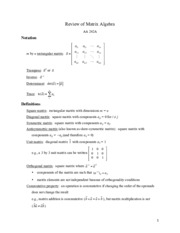 AA 242Ahandout_Topic11_MatrixAlgebraReview