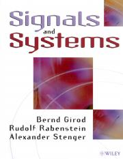 Signals and Systems - Girod