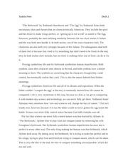 The birthmark essay