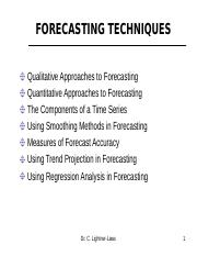 Forecasting_Techniques notes.ppt