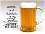 10 Alcohol and Nutrition