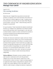 On Leaving Academe - Manage Your Career - The Chronicle of Higher Education_done.pdf