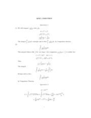 Math1B Quiz4Solutions