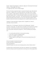 Micro Theme Essay