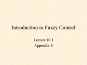 L10.1 Intro to Fuzzy Control