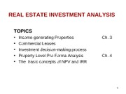 FINA4516 PART2 INVESTMENT lecture_1