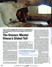 The Unseen- Mental Illness's Global Toll