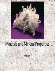 Lecture+3+Minerals