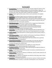 key terms page 359