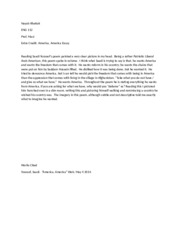 american dream essay prompt