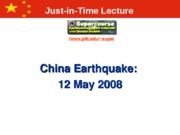 chinese earthquake