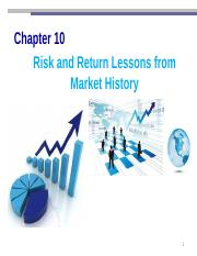Chpater 10_Risk and Return Lessons From Market History.pptx