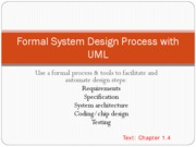 Chapter1 UML Overview