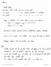 CIVE 121 Review Notes
