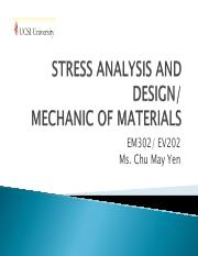 1-1 STRESS ANALYSIS AND DESIGN-student version(2)
