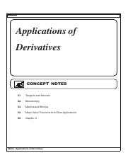 Application_of_Derivatives