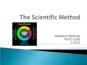 Scientific Method 1.13