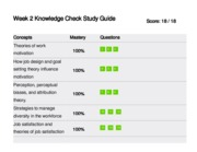 course hero MGT/312 week two knowledge checkpoint answers