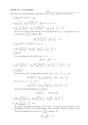 MATH.141.HW.LIMITS.SOLUTIONS