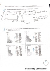 Biology 171 biodiversity and evolution quiz 3