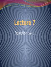 Lecture 7 -Valuation 1(3).pptx