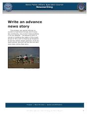 Advanced News Stories