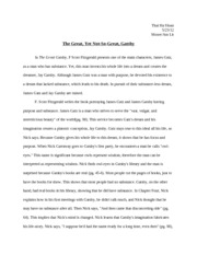 great gatsby paper