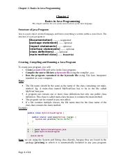 Chapter 2 Java Basics editted.doc