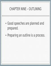 CH10_Outlining