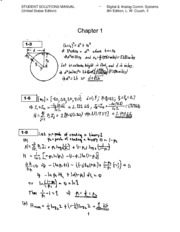Textbook Solutions Ch1