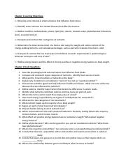 Chpt 1 Learning Objectives & Study Questions(2)