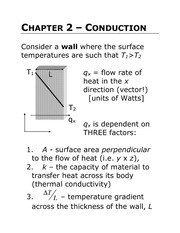 Lecture 2: Conduction