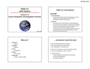 Lec 1-2 Course intro and geographic essentials