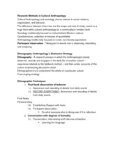 Lecture Notes - Research Methods