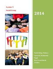 Lecture V Social Group.pdf