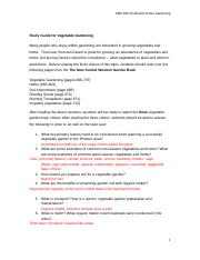 Vegetable Garden Study Guide.docx