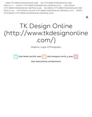 TK Design Online | Graphics, Logos, & Photography