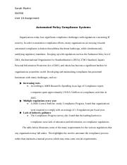 Unit 10 Assignment - Automated Policy Compliance Systems -DONE-
