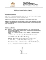 Solutions for PP4 PHYS 191 Fall 2014