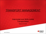 7-Intermodal & Multimodal Freight Transportation