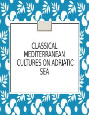 4 Formation of Croatian Mediterranean cities - Greeks and Romans on the Adriatic
